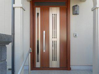 玄関ドア取替後