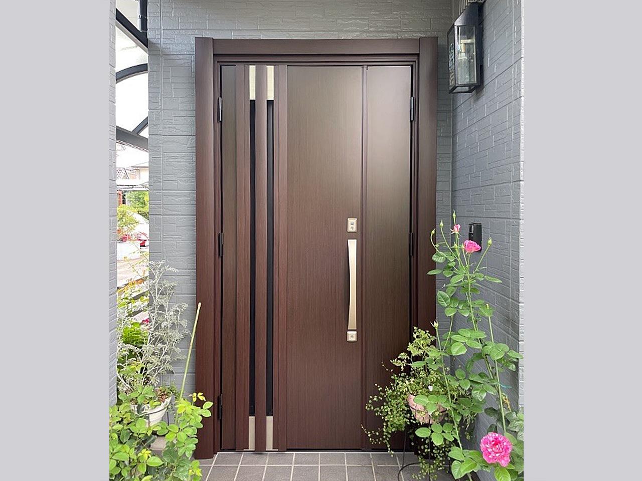 玄関ドア取り替え後